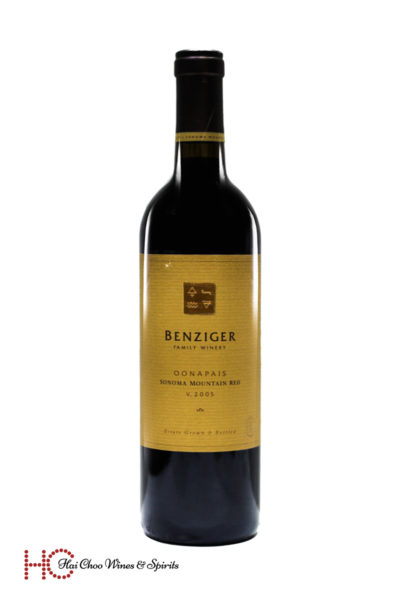 Benziger Oonapais Sonoma Mountain Red
