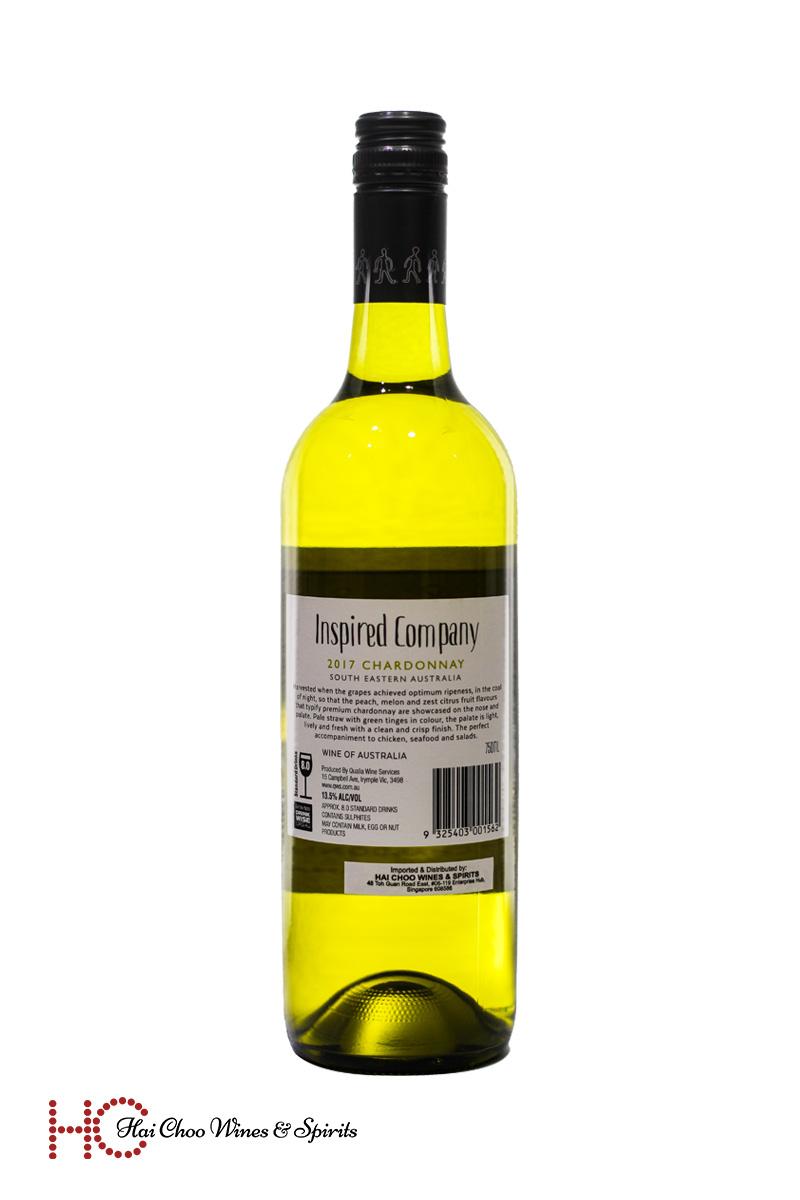 Qualia Inspired Company Chardonnay
