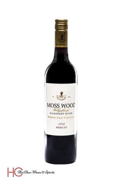 Moss Wood Ribbon Vale Merlot
